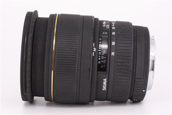 Sigma 24-70mm f/2.8 EX DG Macro (Canon AF)