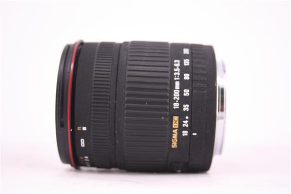 Sigma 18-200mm f/3.5-6.3 DC Lens (Canon AF)