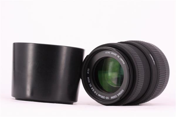 Sigma 55-200mm f/4-5.6 DC (Nikon AF)