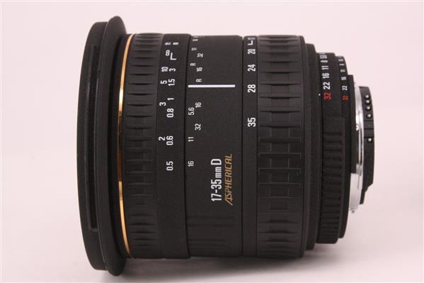 Sigma 17-35mm D EX f/2.8-4 (Nikon Fit)