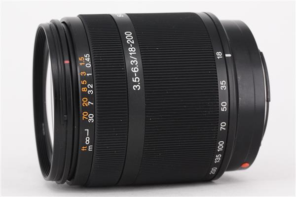 Sony 18-200mm f/3.5-6.3 A Zoom Lens