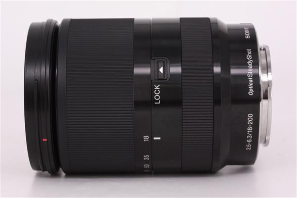 Sony E 18-200mm f/3.5-6.3 OSS LE