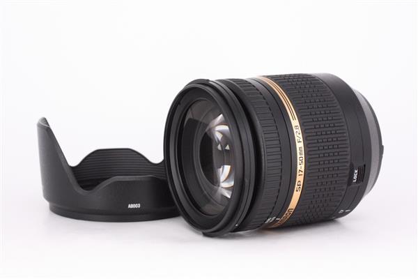 Tamron SP 17-50mm f/2.8 VC Di II Lens for Nikon