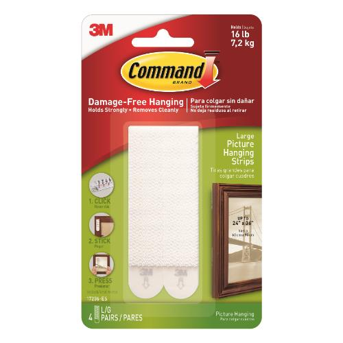 3M Command L picture HangStrip Product Image (Primary)