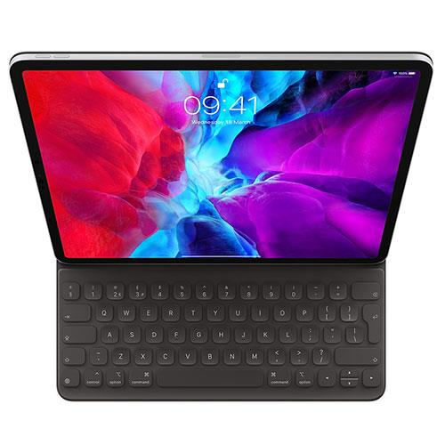 Smart Keyboard Folio for 12.9-inch iPad Pro Qwerty UK English in Black Product Image (Primary)