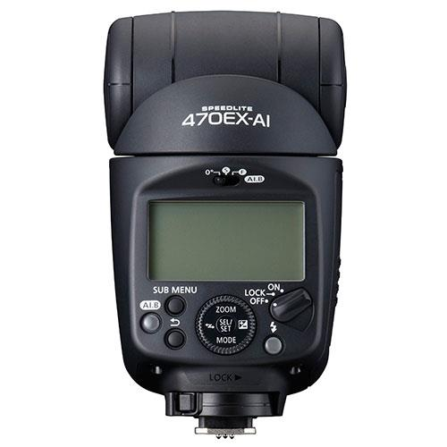 Speedlite 470EX AI Flashgun Product Image (Secondary Image 2)