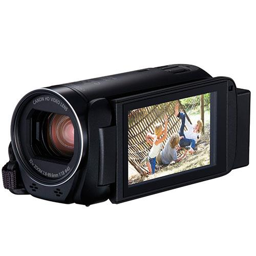 Legria HF R806 Cancorder in Black Product Image (Secondary Image 3)