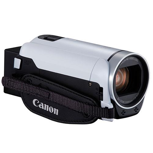 Legria HF R806 Camcorder in White Product Image (Secondary Image 4)