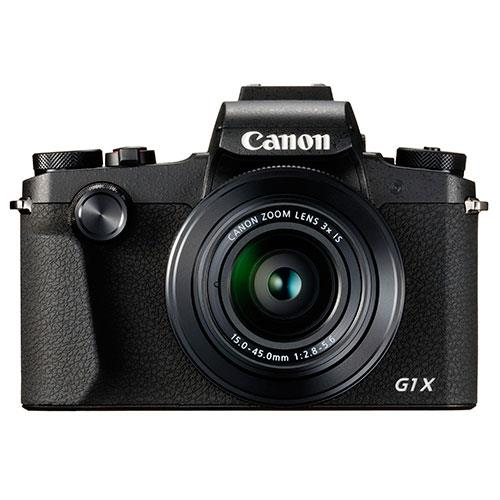 PowerShot G1 X Mark III Digital Camera in Black Product Image (Primary)