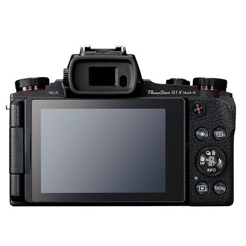 PowerShot G1 X Mark III Digital Camera in Black Product Image (Secondary Image 1)