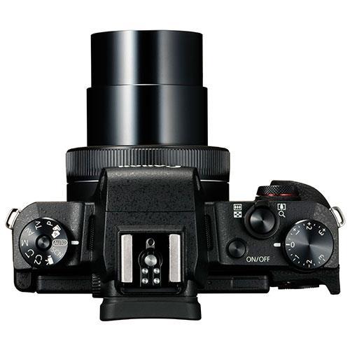 PowerShot G1 X Mark III Digital Camera in Black Product Image (Secondary Image 2)