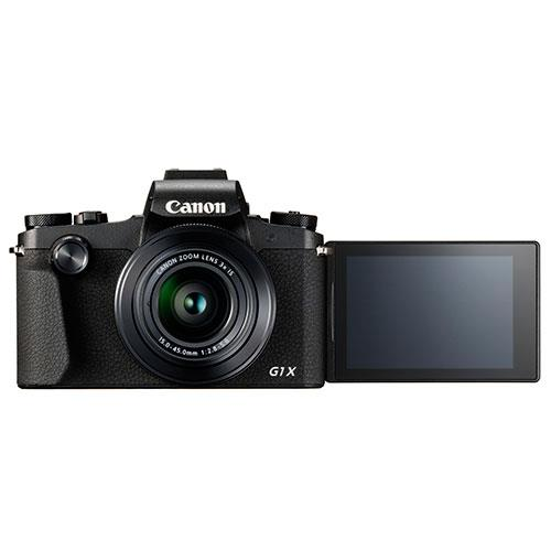 PowerShot G1 X Mark III Digital Camera in Black Product Image (Secondary Image 4)
