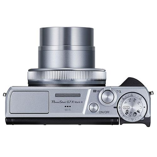 PowerShot G7 X Mark III Digital Camera in Silver Product Image (Secondary Image 6)