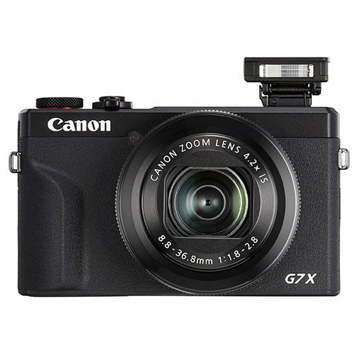 PowerShot G7 X Mark III Digital Camera in Black with Extra Battery Product Image (Secondary Image 3)