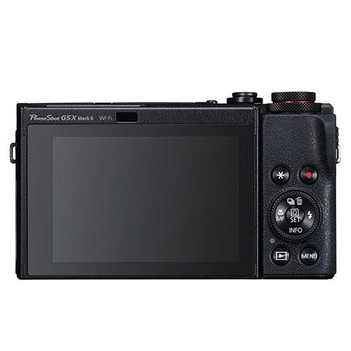 PowerShot G5 X Mark II Digital Camera in Black with Extra Battery Product Image (Secondary Image 1)