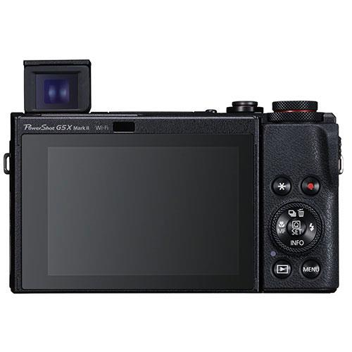 PowerShot G5 X Mark II Digital Camera in Black with Extra Battery Product Image (Secondary Image 3)