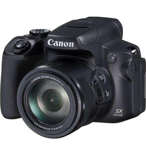Powershot SX70 HS Digital Camera Product Image (Secondary Image 1)