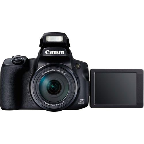Powershot SX70 HS Digital Camera Product Image (Secondary Image 2)