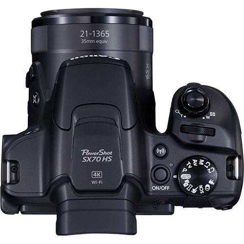 Powershot SX70 HS Digital Camera Product Image (Secondary Image 4)