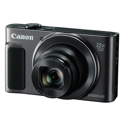 Powershot SX620 Digital Camera in Black Product Image (Primary)