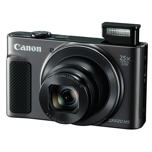 Powershot SX620 Digital Camera in Black Product Image (Secondary Image 3)