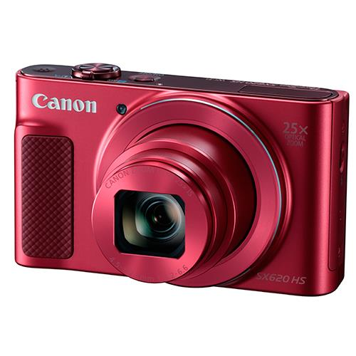 Powershot SX620 Digital Camera in Red Product Image (Primary)