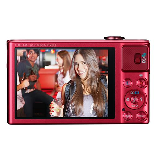 Powershot SX620 Digital Camera in Red Product Image (Secondary Image 1)
