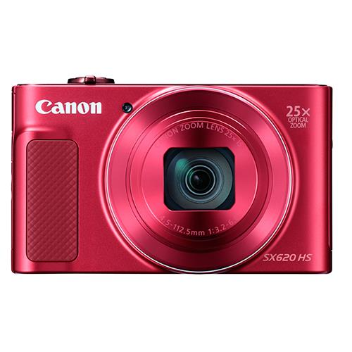 Powershot SX620 Digital Camera in Red Product Image (Secondary Image 2)