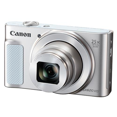 Powershot SX620 Digital Camera in White Product Image (Primary)