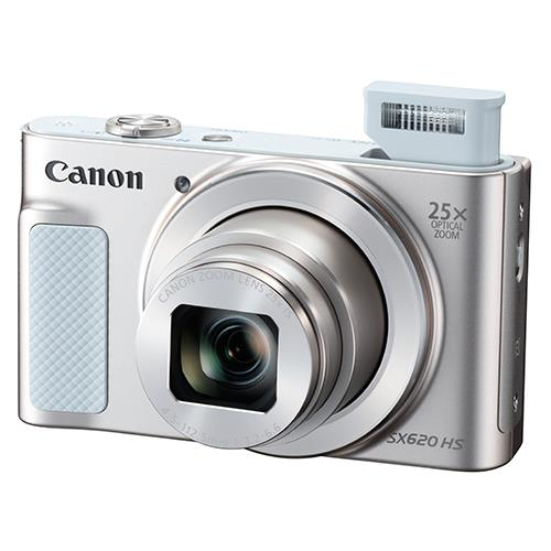Powershot SX620 Digital Camera in White Product Image (Secondary Image 2)