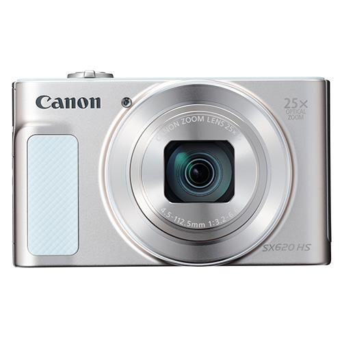 Powershot SX620 Digital Camera in White Product Image (Secondary Image 3)