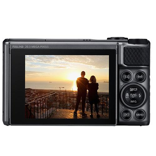 PowerShot SX730 HS Digital Camera in Black Product Image (Secondary Image 1)