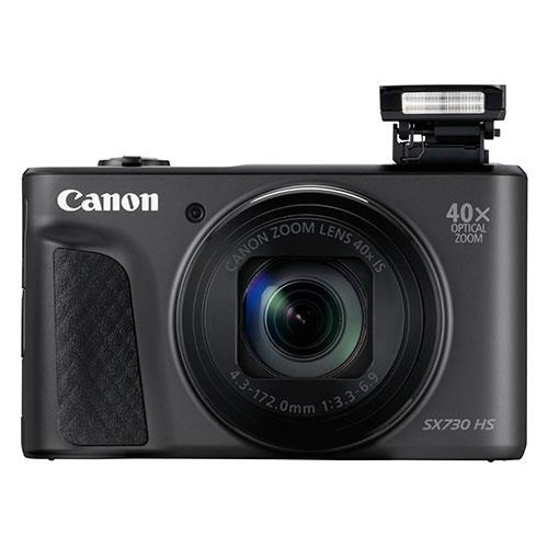 PowerShot SX730 HS Digital Camera in Black Product Image (Secondary Image 2)