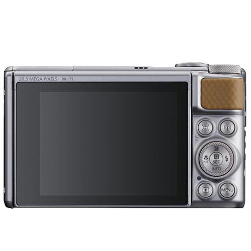 PowerShot SX740 HS Camera in Silver Product Image (Secondary Image 2)