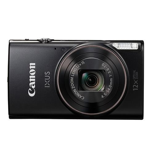 Ixus 285 HS Digital Camera in Black Product Image (Secondary Image 1)