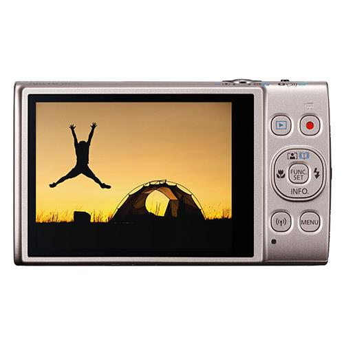 Ixus 285 HS Digital Camera in Silver Product Image (Secondary Image 2)
