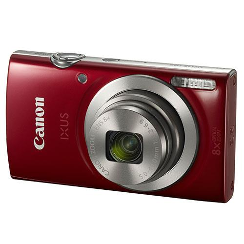 IXUS 185 Compact Camera in Red Product Image (Primary)