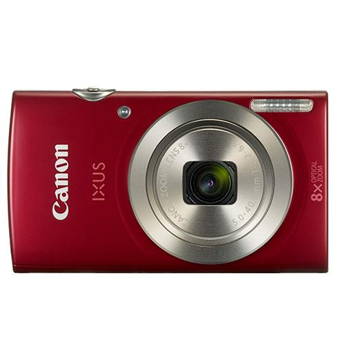 IXUS 185 Compact Camera in Red Product Image (Secondary Image 1)