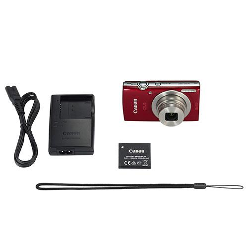 IXUS 185 Compact Camera in Red Product Image (Secondary Image 3)
