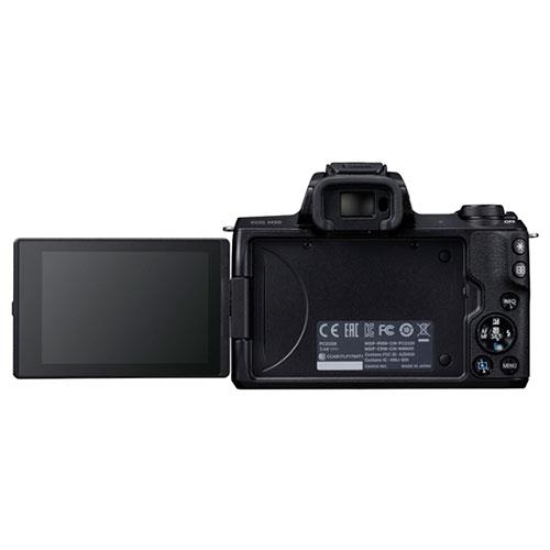 EOS M50 Mirrorless Camera Body in Black Product Image (Secondary Image 2)