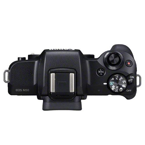 EOS M50 Mirrorless Camera Body in Black Product Image (Secondary Image 5)