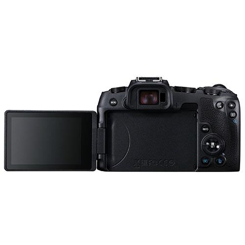 EOS RP Mirrorless Camera with RF 24-105mm f/4 L IS USM Lens and Mount Adapter Product Image (Secondary Image 2)