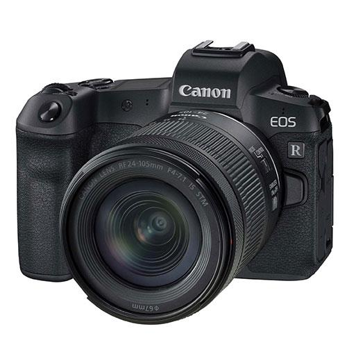 EOS R Mirrorless Camera with RF 24-105mm f/4-7.1 IS STM Lens Product Image (Primary)
