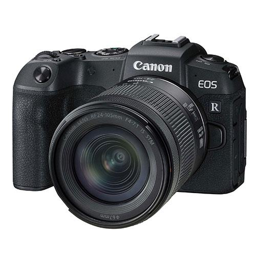 EOS RP Mirrorless Camera with RF 24-105mm IS STM Lens Product Image (Primary)