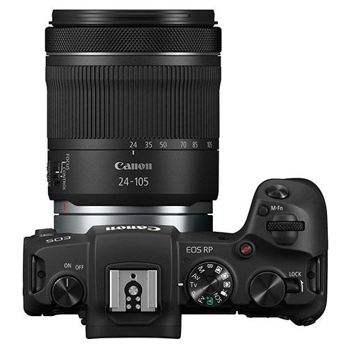 EOS RP Mirrorless Camera with RF 24-105mm IS STM Lens Product Image (Secondary Image 1)