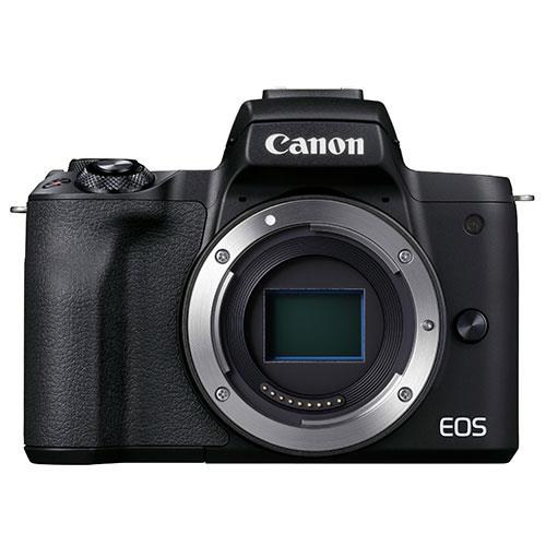 EOS M50 Mark II Mirrorless Camera Body in Black Product Image (Primary)