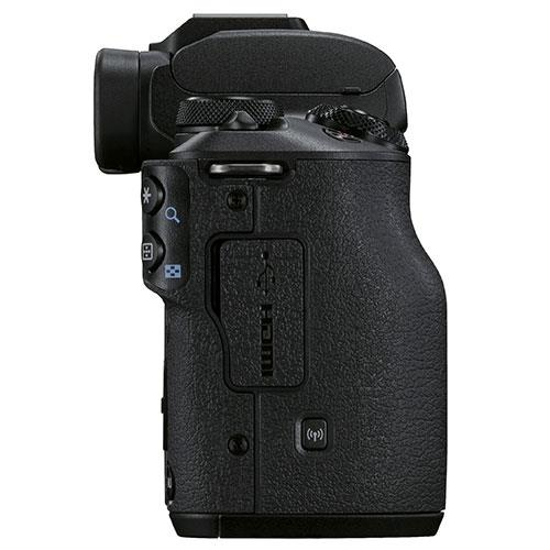 EOS M50 Mark II Mirrorless Camera Body in Black Product Image (Secondary Image 6)