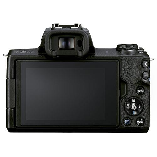 EOS M50 Mark II Mirrorless Camera in Black with EF-S 18-150mm Lens Product Image (Secondary Image 2)