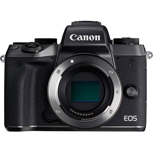 EOS M5 Mirrorless Camera Body in Black Product Image (Primary)