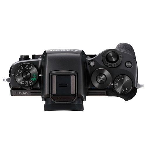 EOS M5 Mirrorless Camera Body in Black Product Image (Secondary Image 2)